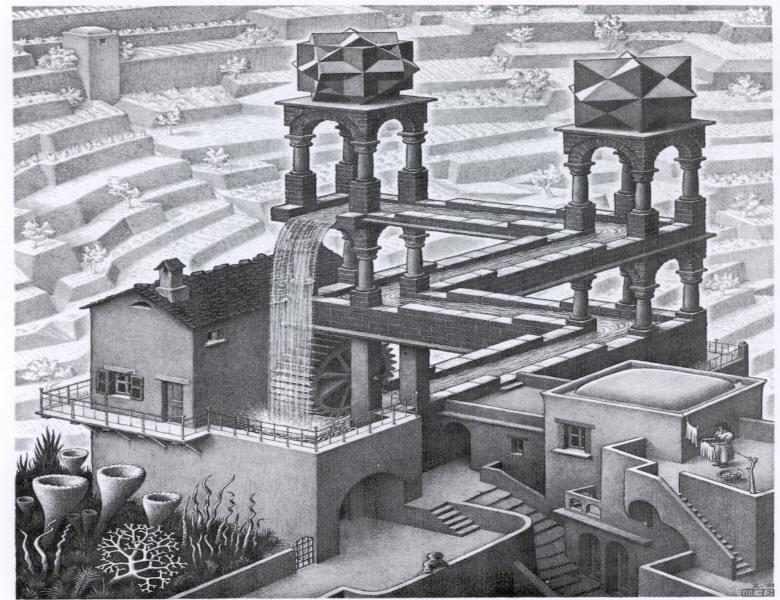 BBC Radio 4 - M. C. Escher, Waterfall, 1961 - Front Row, Amy Winehouse ...
